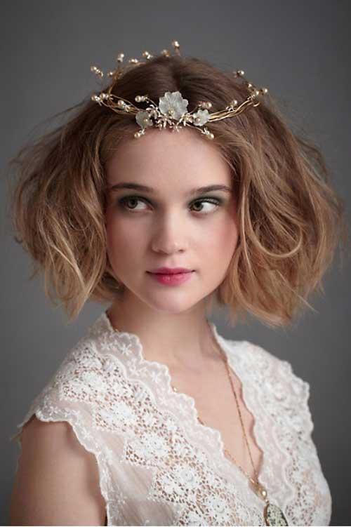 اجمل اشكال اكسسورات الشعر للعروس من انستقرام
