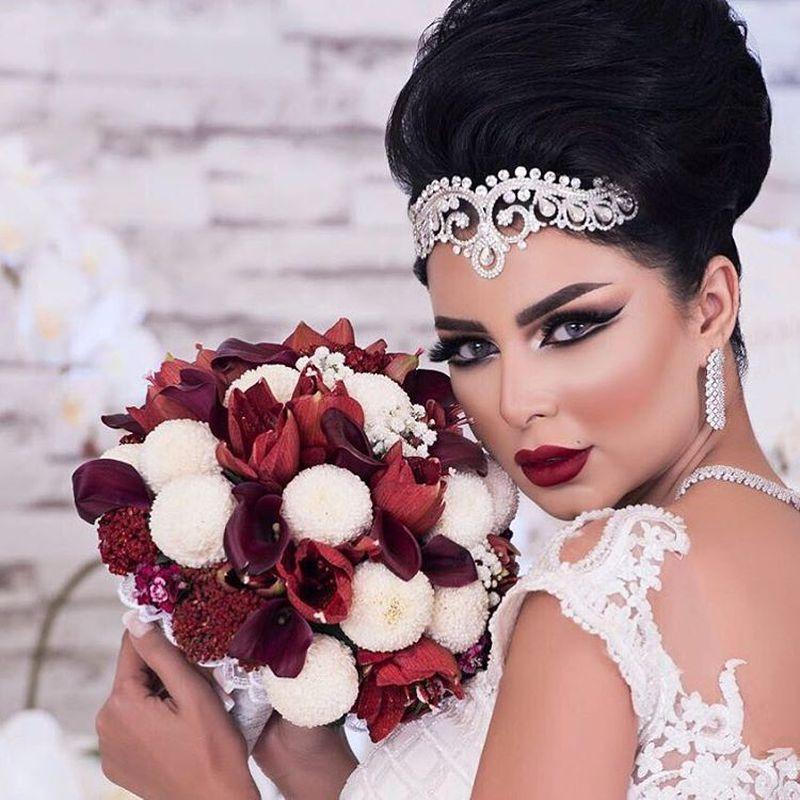 e85bd90b086b0 اجمل اشكال اكسسوارات شعر للعروس من انستقرام - مشاهير