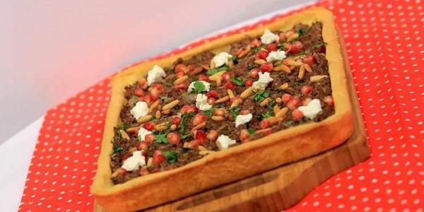فطور رمضان وصفة تارت اللحم المفروم مع الرمان على الطريقة الاردنية