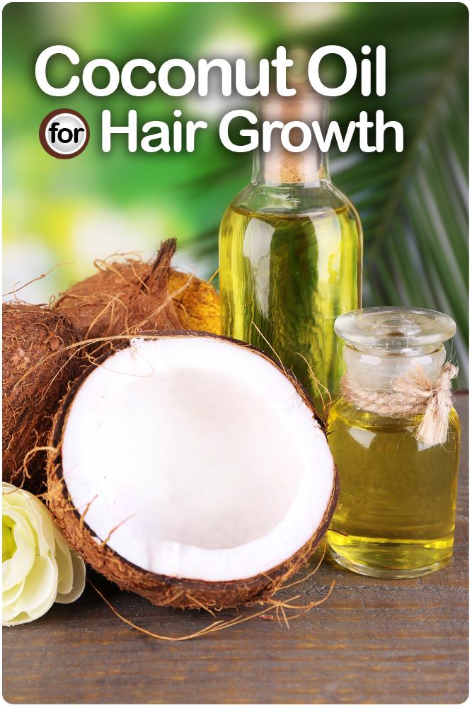 فوائد زيت جوز الهند لتكثيف وإطالة نمو الشعر