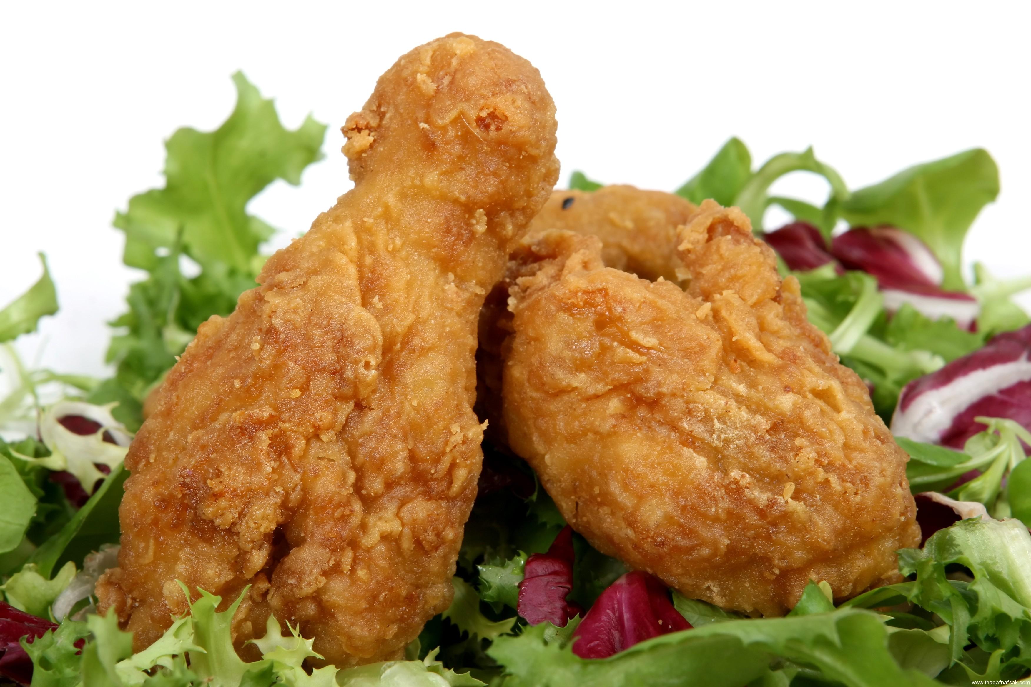 وصفة دجاج مقلي علي الطريقة الامريكية للافطار في رمضان