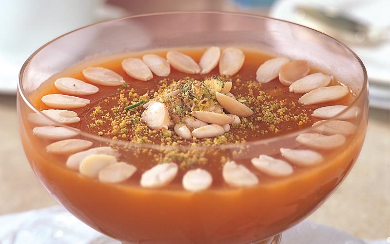 حلويات رمضان اسهل طريقة لعمل مهلبية قمر الدين