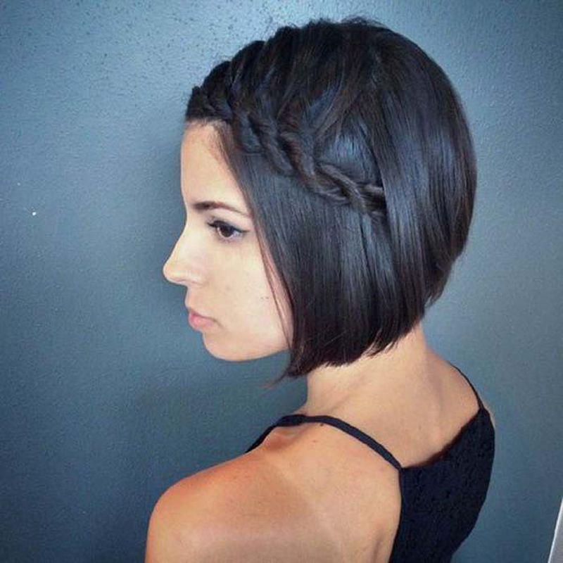 تسريحات شعر صيفية لصاحبات الشعر القصير
