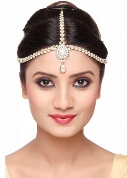اكسسوارات شعر هندية لاطلالة مميزة