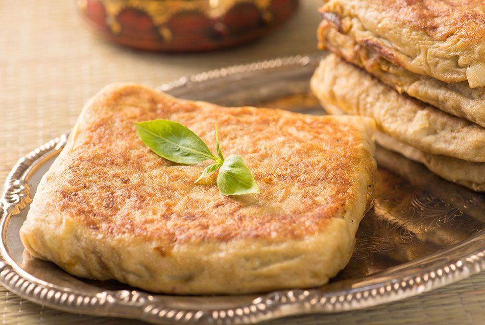 اكلات وصفة مطبق لحم علي الطريقة السعودية