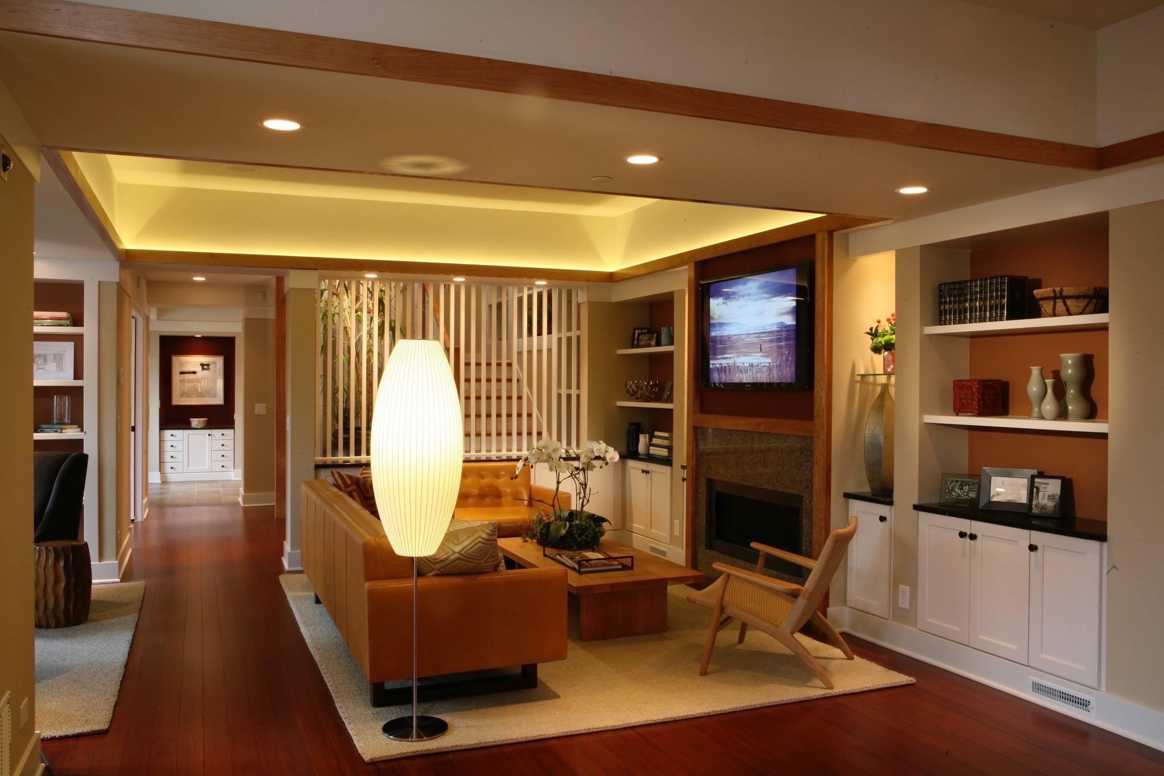 افكار ديكور غرف معيشة للمساحات صغيرة