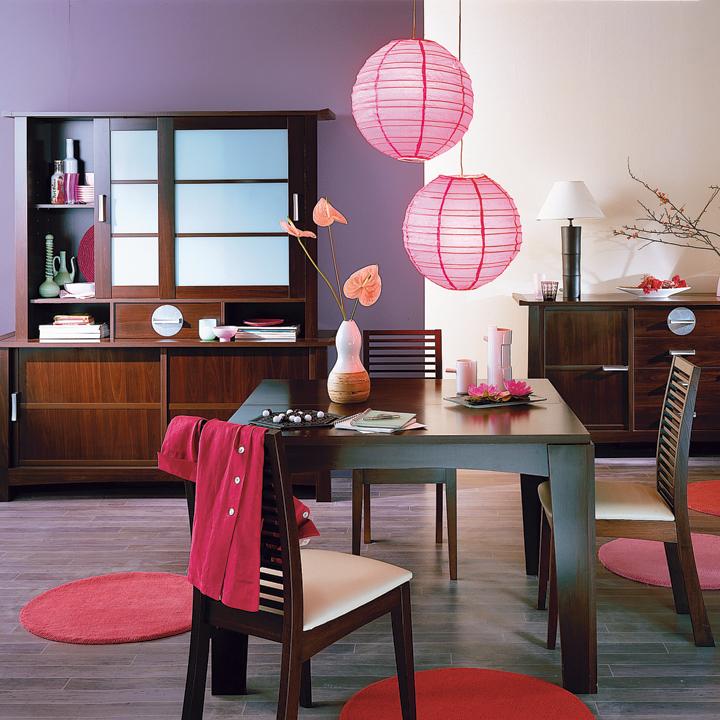 ديكورات مميزة وعصرية لتجديد غرف طعام المنزل بالوان مشرقة