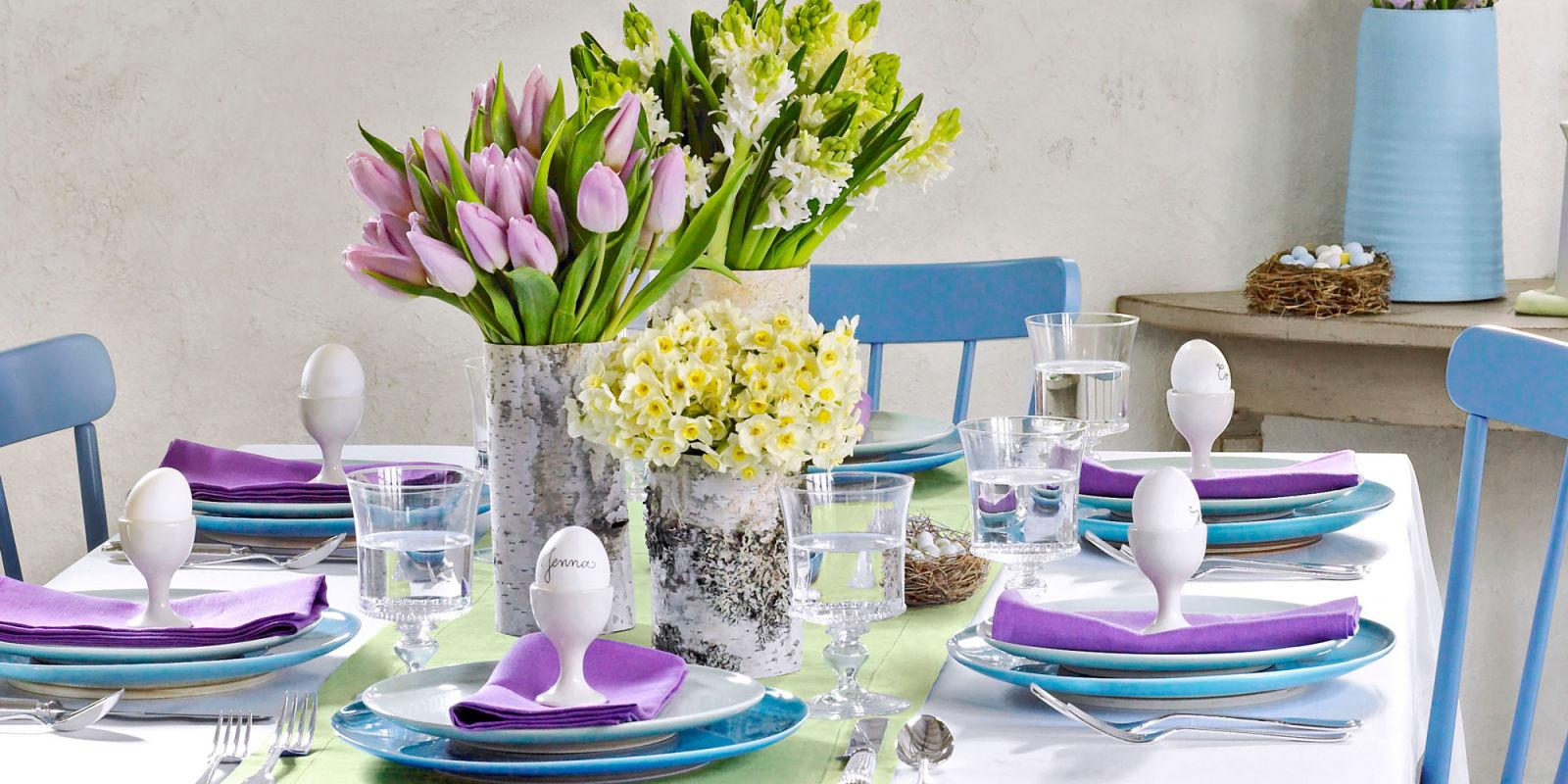 افكار ديكورات لتزيين طاولات الطعام في العيد