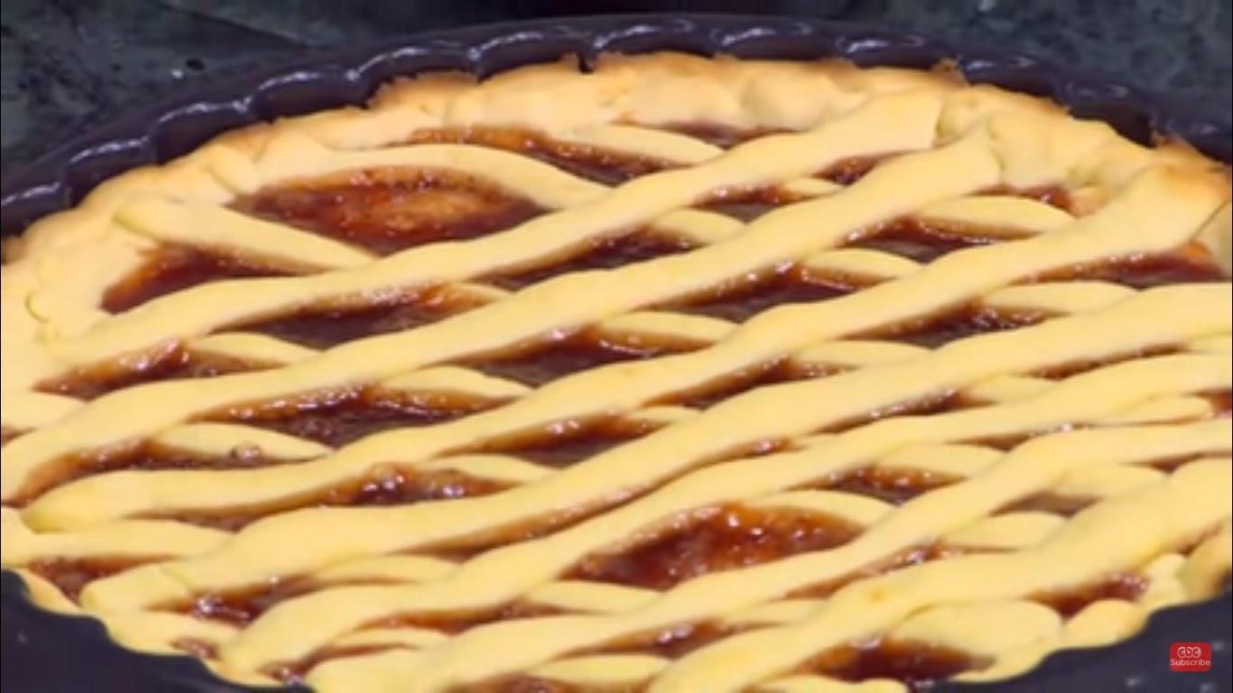 حلويات رمضان  طريقة تحضير تارت عيش السرايا بالقشطة