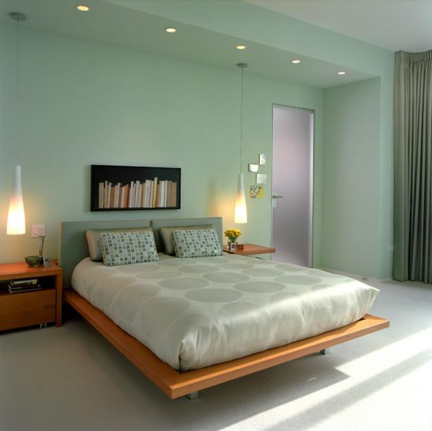 احدث-ديكورات-غرف-نوم-انيقة-ومميزة-باللون-الاخضر- (7)