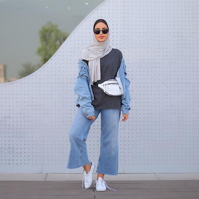 d90a4afbf أجمل ازياء الموضة للمحجبات من المدونة فاطمة حسام - مشاهير