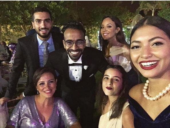 محمود الليثي مع أبطال لاتطفئ الشمس