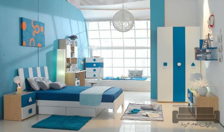 ديكورات-غرف-نوم-اطفال-بالوان-مبهجة-2017- (11)