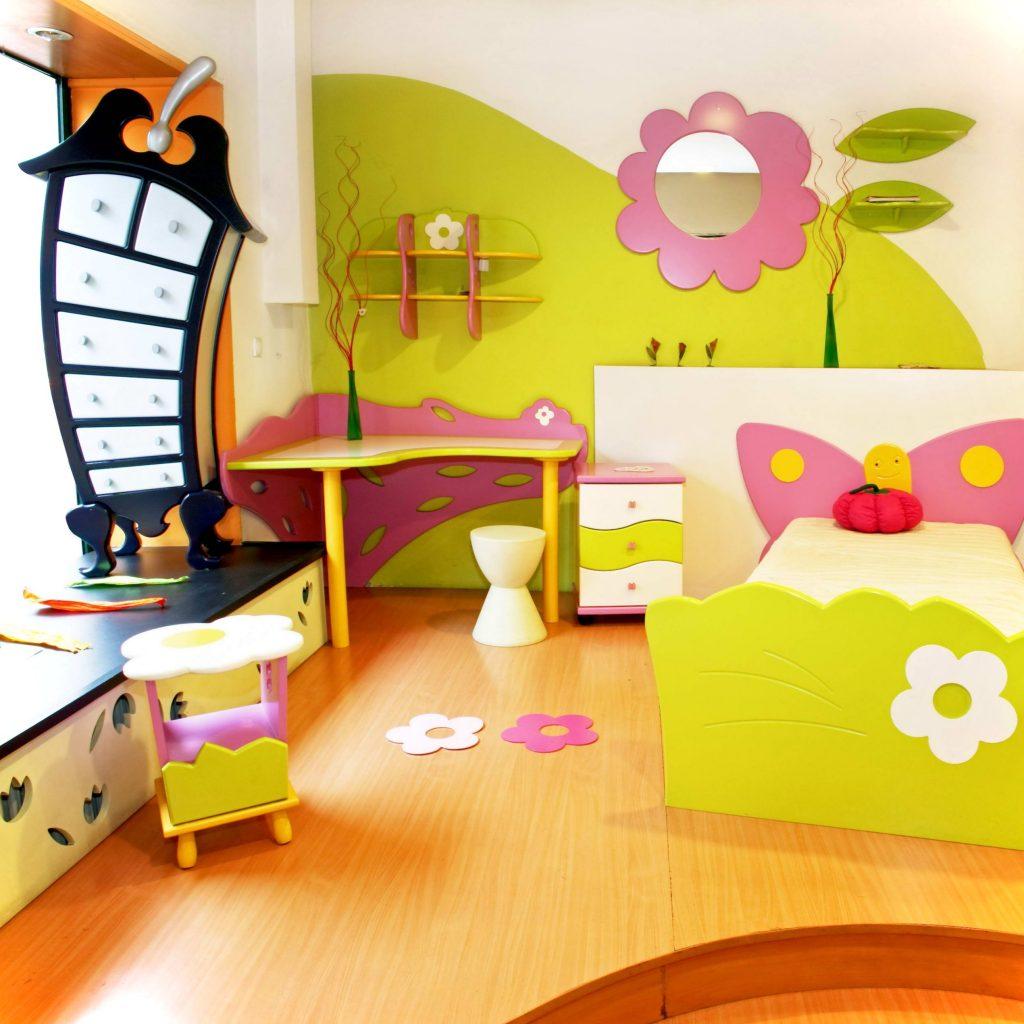 ديكورات-غرف-نوم-اطفال-بالوان-مبهجة-2017- (13)