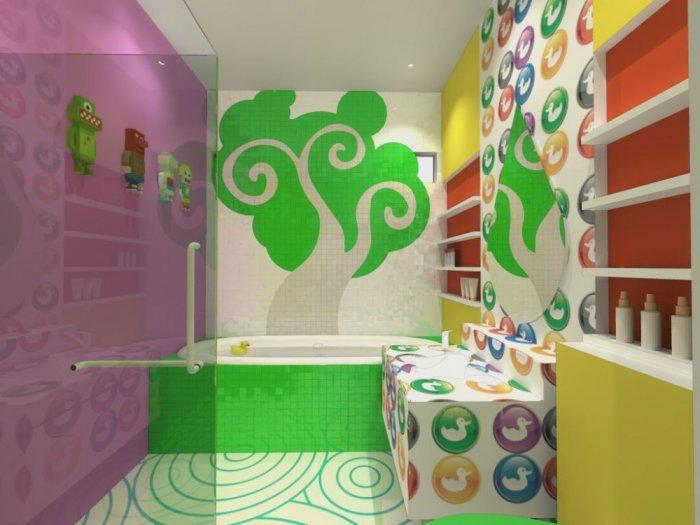 رسومات-حمامات-الاطفال