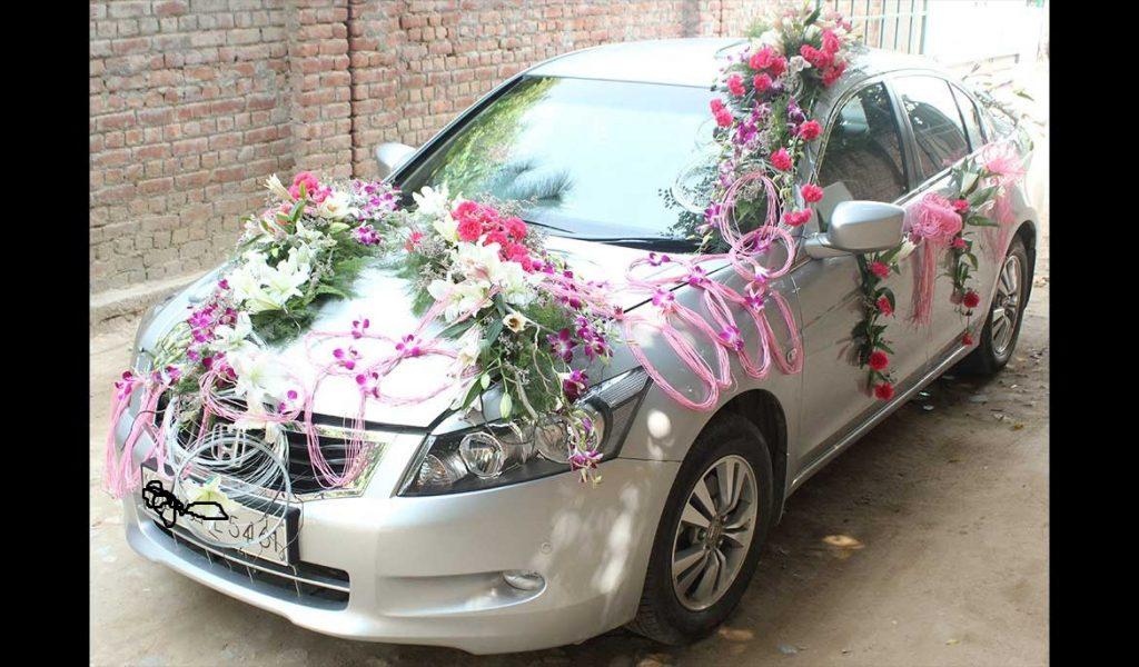 زينة-سيارة-العروس