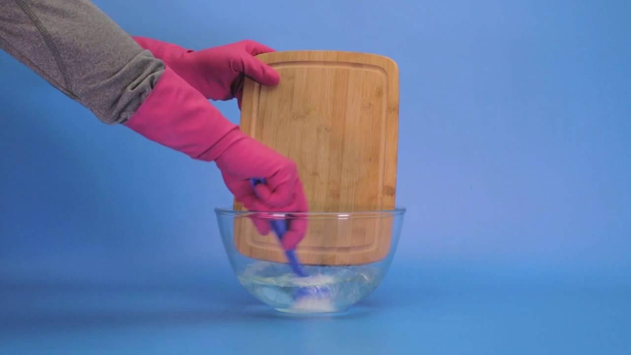 طرق تنظيف ألواح التقطيع