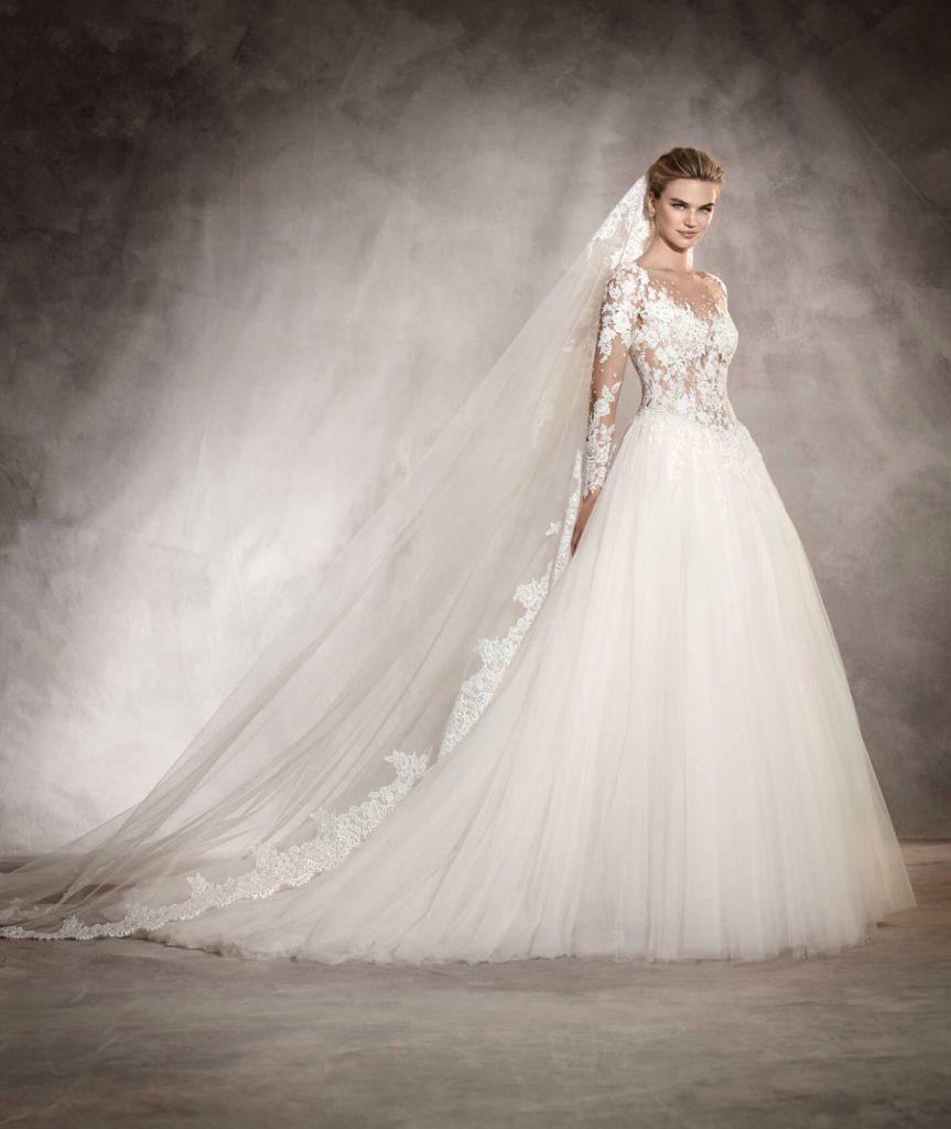 55a8ff510 احدث موديلات فساتين زفاف لعروس صيف 2017 - مشاهير