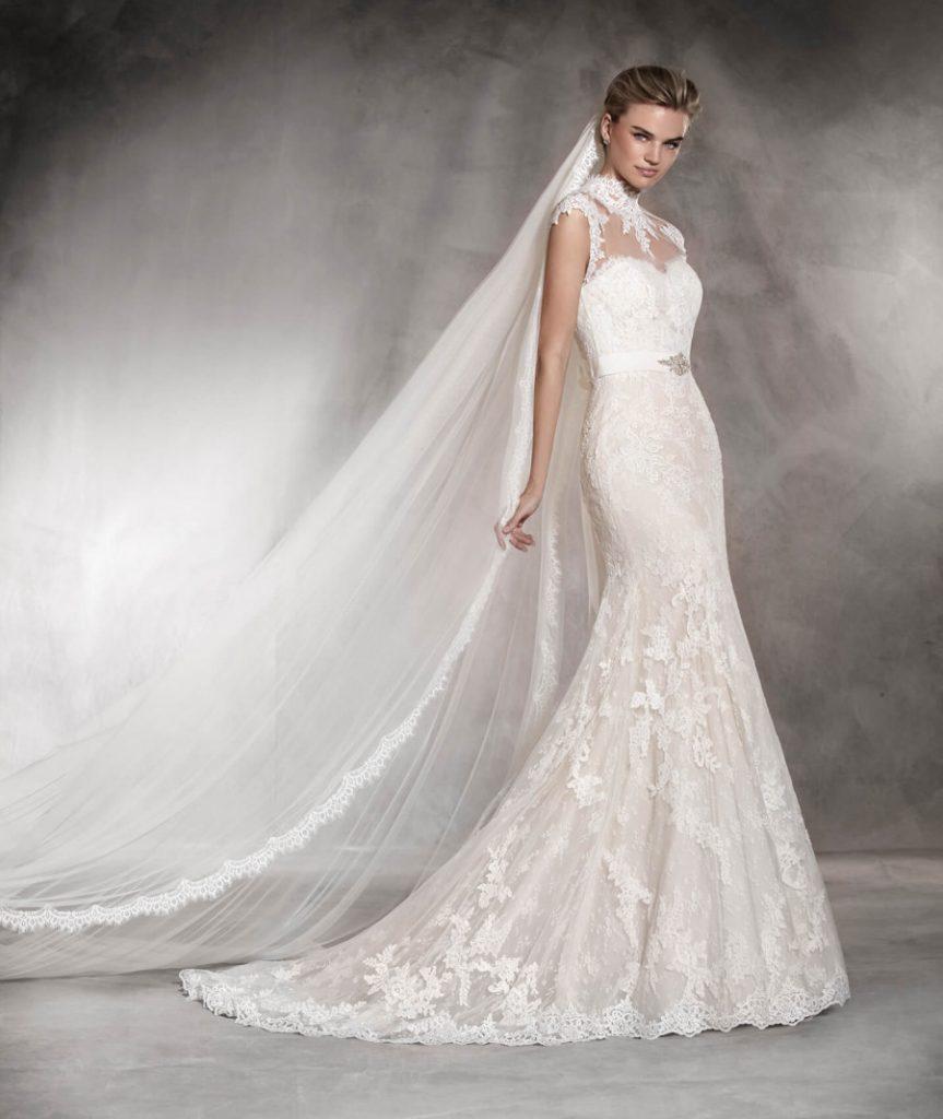 fde888fcd28ea احدث موديلات فساتين زفاف لعروس صيف 2017 - مشاهير