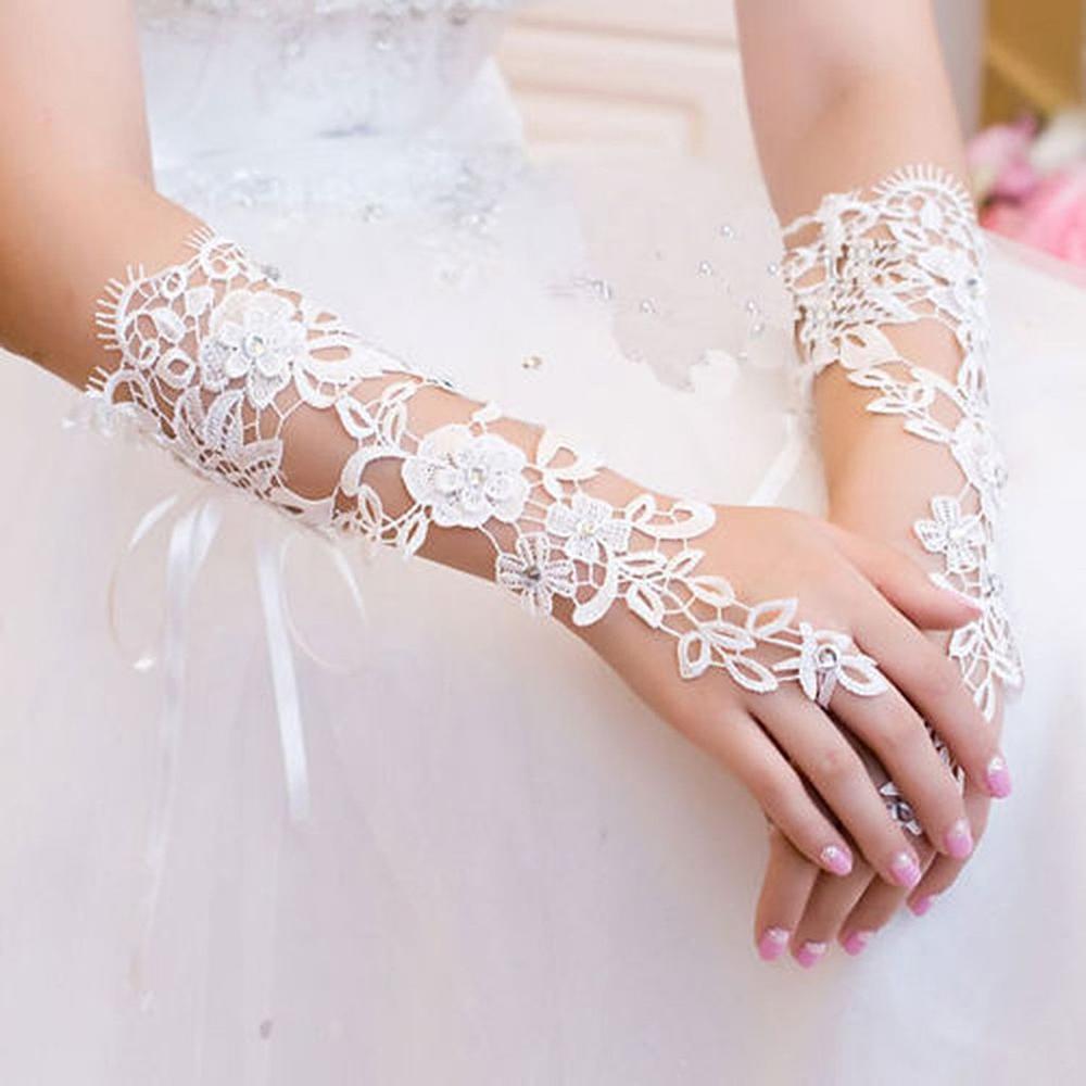 قفازات-للعروس