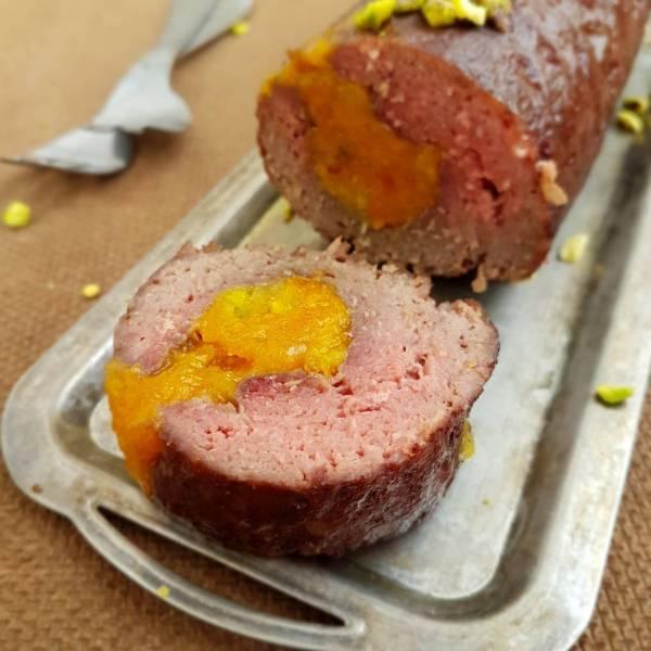 ملفوف لحم مفروم بالمشمش
