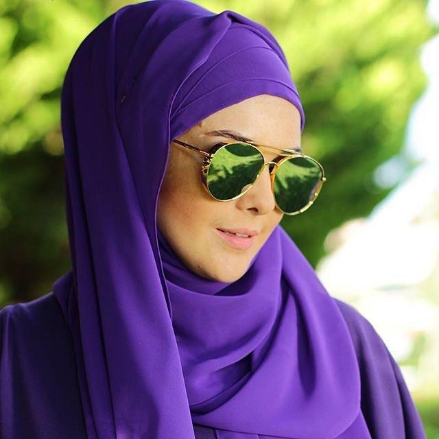 احدث نظارات شمسية مناسبة للمحجبات