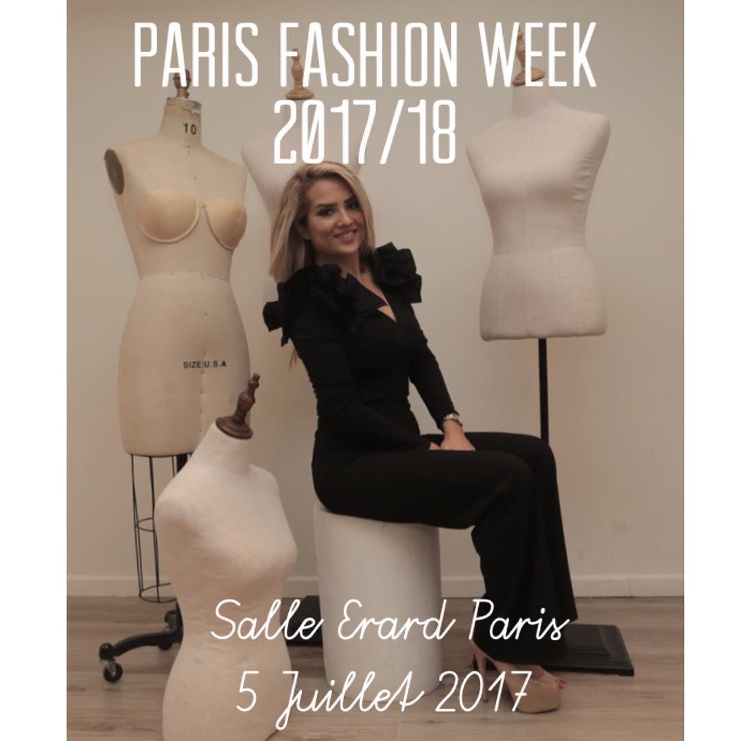 مصممة الازياء هيا عوض تشارك فى اسبوع الموضة باريس ورلد