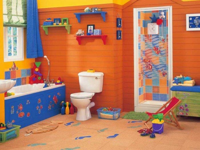 ديكورات-حمامات-الاطفال