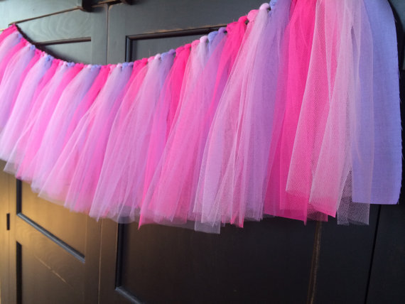 Free-Shiping-Tutu-Table-Skirt-Custom-Winter-Wonderland-Pink-Tulle-Tutu-Table-Skirt-Wedding-Birthday-Baby