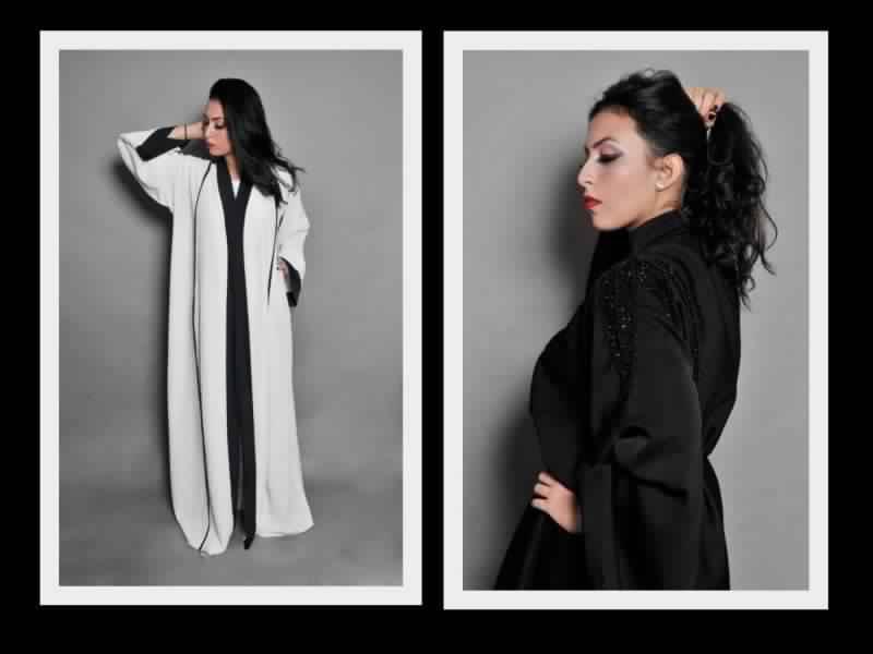 051c4902114a1 احدث ملابس من مصممة الازياء السعودية بشاير - مشاهير