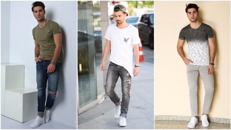 9a20a2c740e6c احدث موديلات جينز رجالي موضة صيف 2017 - مشاهير