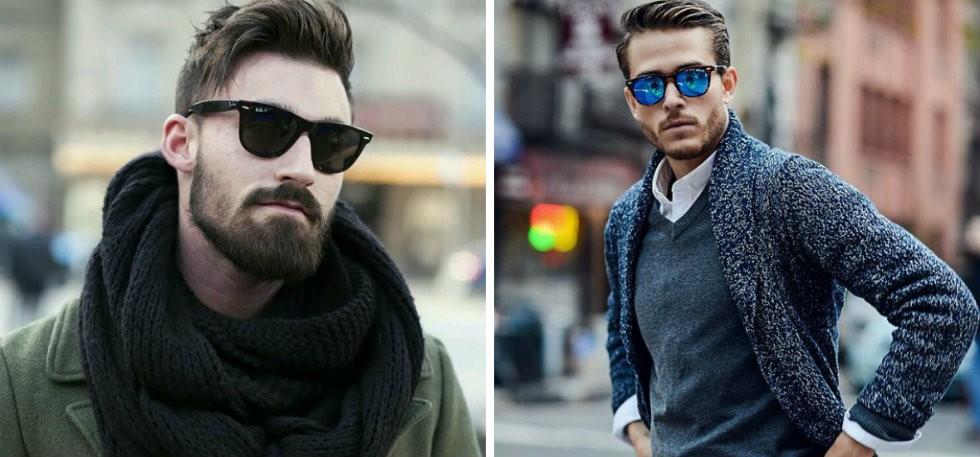 eb50bb667 احدث موضة نظارات شمسية رجالية المناسبة لشكل الوجه - مشاهير