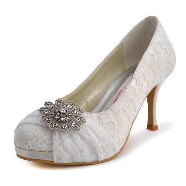 bda120b03 موديلات احذية زفاف للعروس القصيرة صيف 2017 - مشاهير