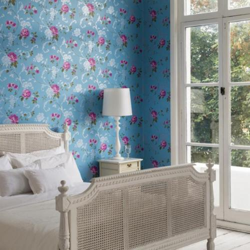 افكار-ديكورات-غرف-نوم-بنات-من-ورق-الحائط- (11)