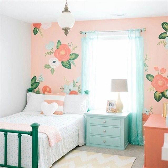 افكار-ديكورات-غرف-نوم-بنات-من-ورق-الحائط- (17)