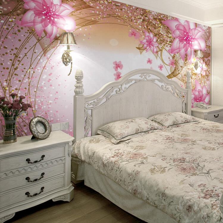 افكار-ديكورات-غرف-نوم-بنات-من-ورق-الحائط- (18)