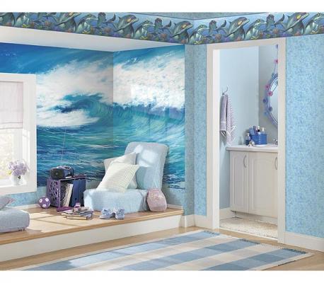 افكار-ديكورات-غرف-نوم-بنات-من-ورق-الحائط- (2)