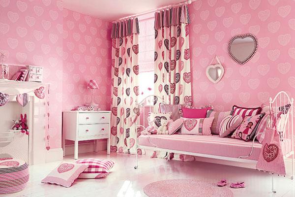 افكار-ديكورات-غرف-نوم-بنات-من-ورق-الحائط- (20)