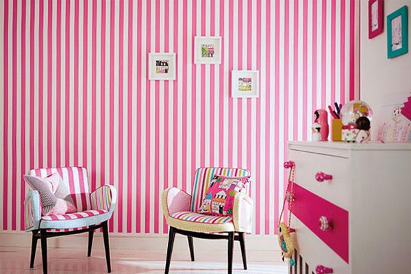 افكار-ديكورات-غرف-نوم-بنات-من-ورق-الحائط- (22)