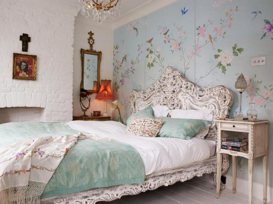 افكار-ديكورات-غرف-نوم-بنات-من-ورق-الحائط- (24)