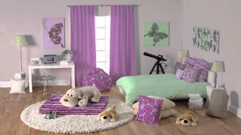 افكار-ديكورات-غرف-نوم-بنات-من-ورق-الحائط- (26)