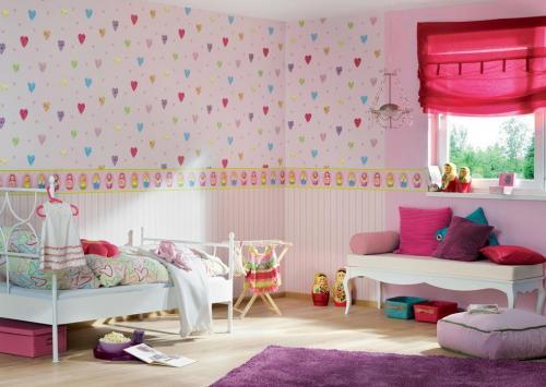 افكار-ديكورات-غرف-نوم-بنات-من-ورق-الحائط- (4)
