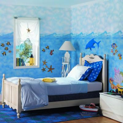 افكار-ديكورات-غرف-نوم-بنات-من-ورق-الحائط- (8)