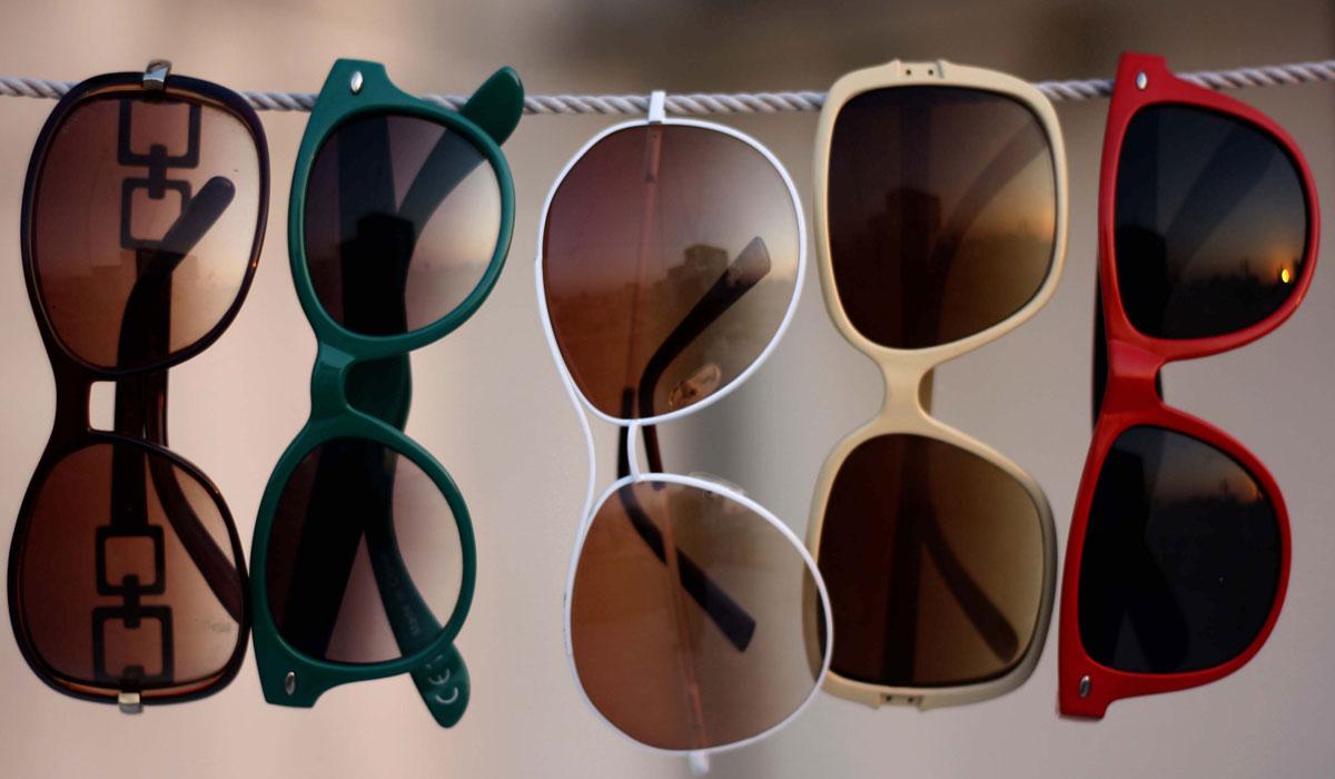 النظارات الشمسية المقلدة واضرارها على صحة العين