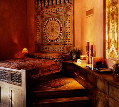 ديكورات-غرف-نوم-حديثة-بستايل-مغربي- (16)