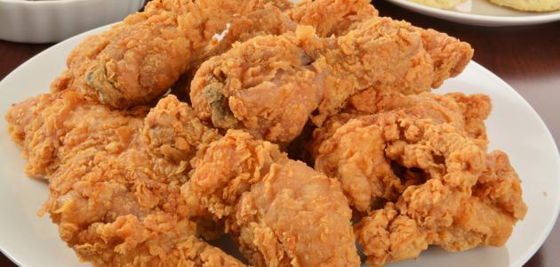 طريقة عمل بروستد دجاج مقرمش على الطريقة الخليجية