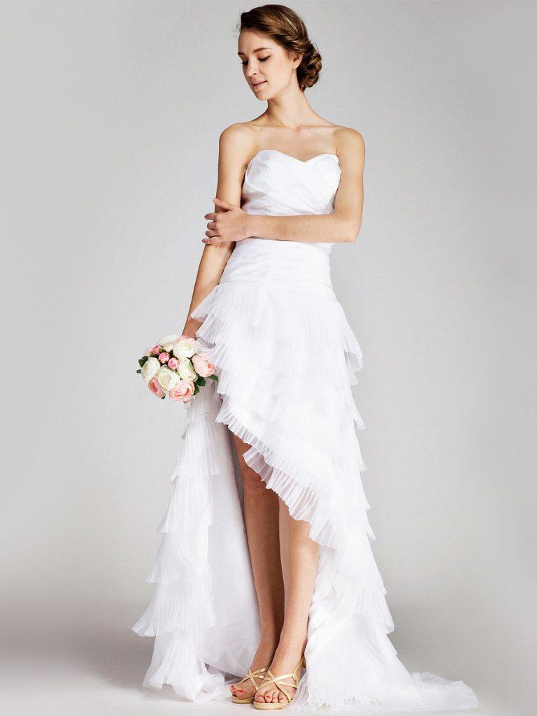عروس-بفستان-قصير