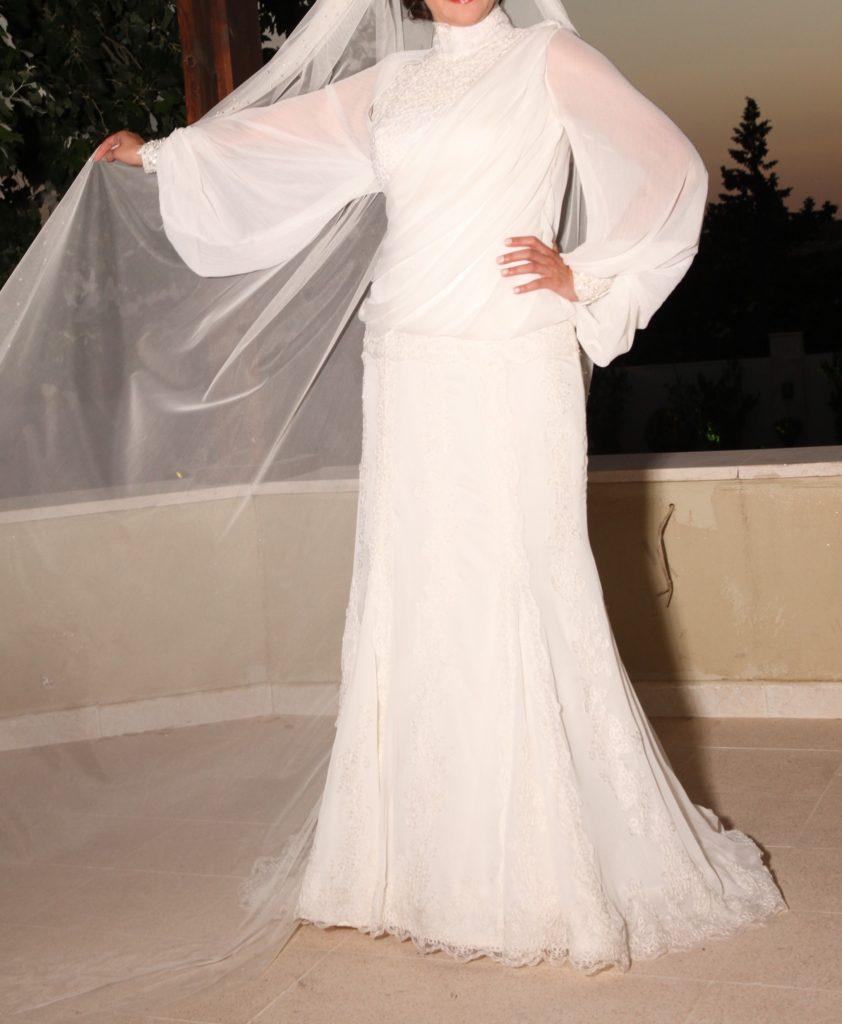 عروس-محجبة