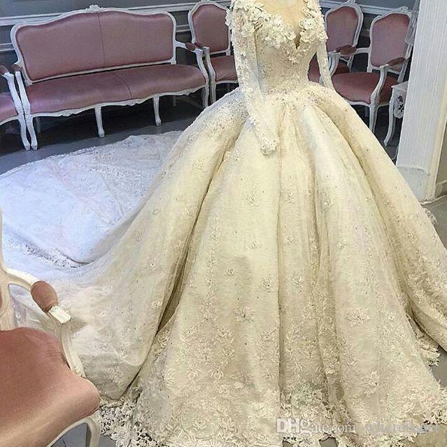 فساتين-زفاف-فخمة