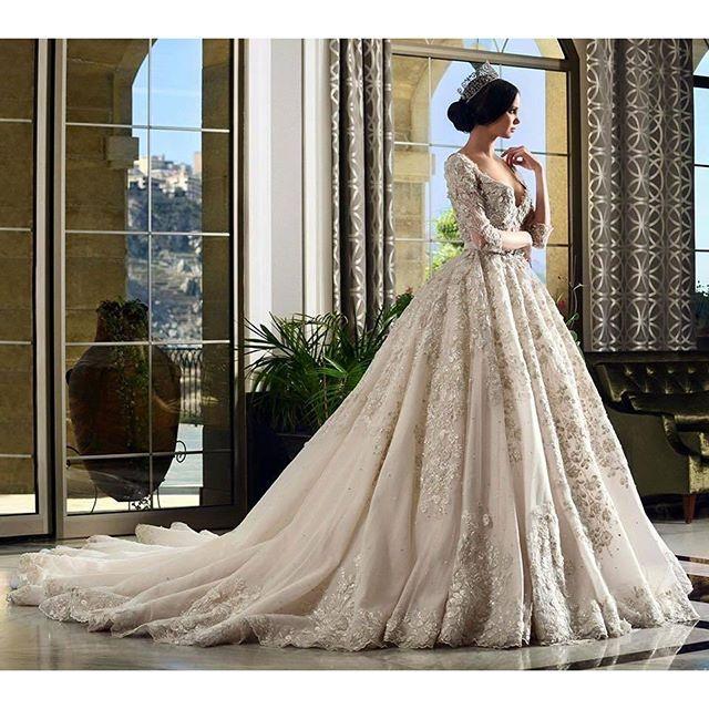 فستان-زفاف-ملكي